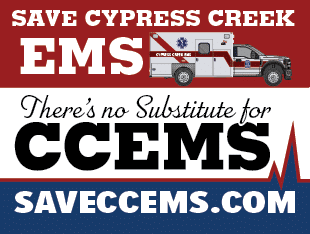 CCEMS yard sign