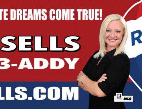 Addy Sells Real Estate Billboard
