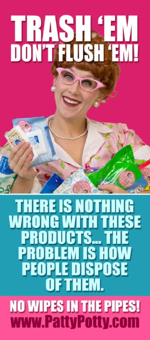 Patty Potty trash em