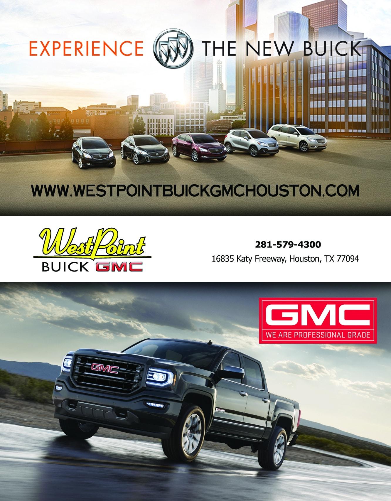 Westpoint Buick GMC Ad