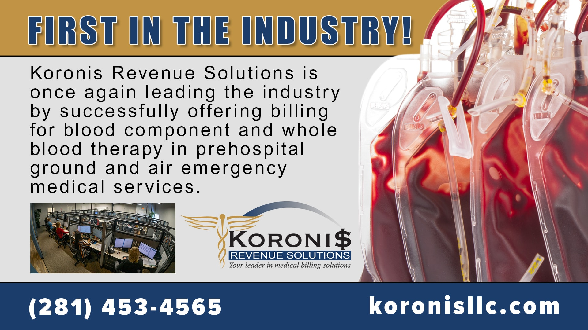 Koronis Revenue Solutions - first in industry