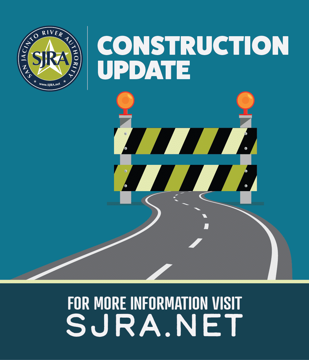SJRA Construction Update graphic