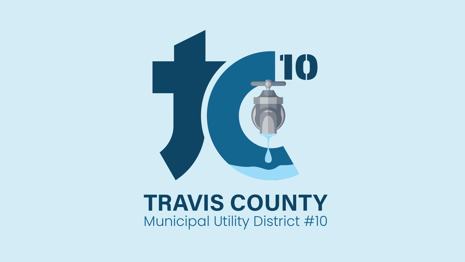 Travis County MUD 10 logo